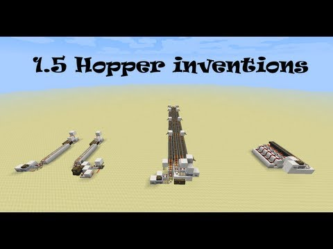 how to make a hopper in minecraft 1.7 10