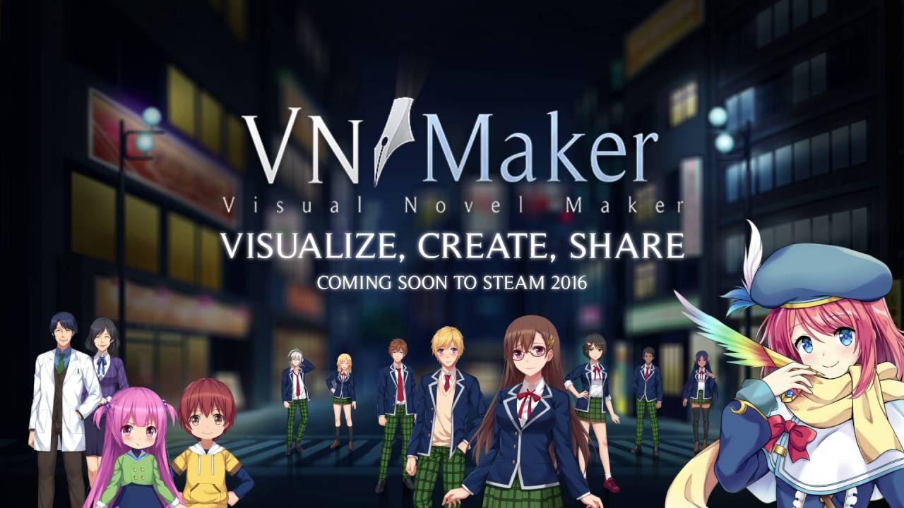 Visual Novel Maker Teaser Trailer