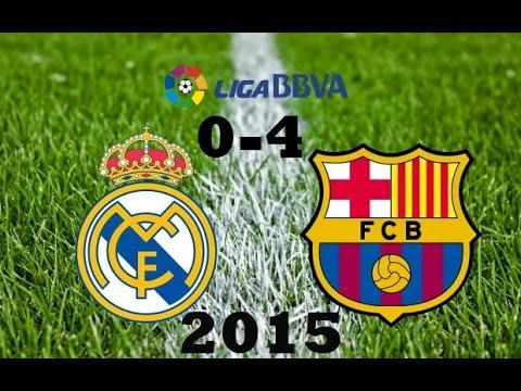 Обзор-Матч Реал Мадрид - Барселона 21 ноября 2015