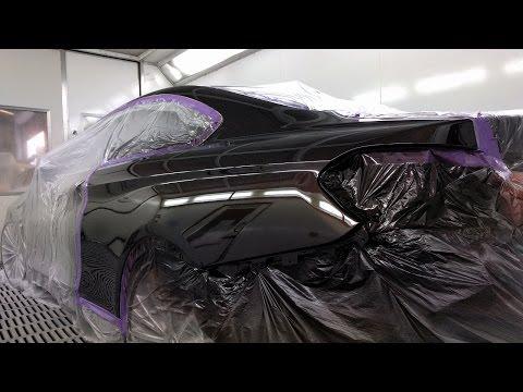 BMW 420i Spray Painting