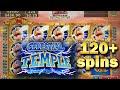 CELESTIAL TEMPLE SLOT MACHINE BONUS 120+ FREE SPINS WITH RETRIGGERS AND SUPER FREE GAMES Konami