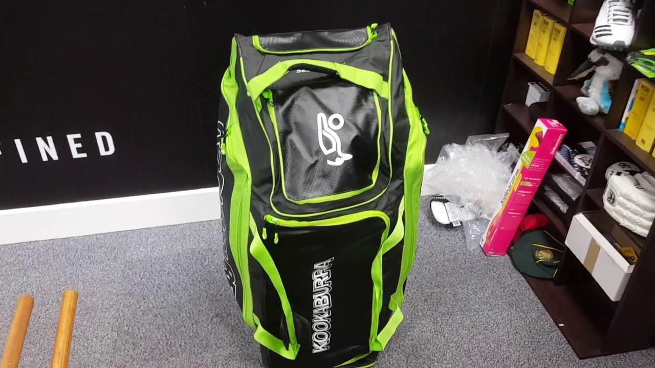 403f45b77508 Kookaburra Pro Players Wheelie (2018) Cricket Bag Review