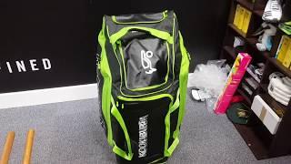 Kookaburra Pro Players Wheelie (2018) Cricket Bag Review