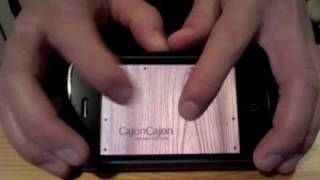 CajonCajon - A Cajon simulator on iPhone or iPod Touch