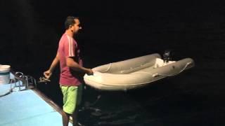 Чем заняться вечером на яхте? Рыбалка...