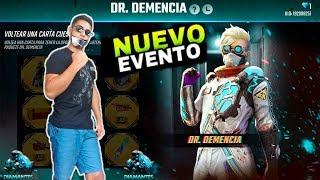 FUE SUERTE ?? EL DR. DEMENCIA  EN FREE FIRE SUPER EVENTO  GAMEPLAY RAMDON MATAMOS AL CORONAVIRUS