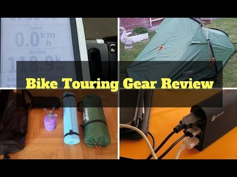 Bicycle Touring Gear Review - Bike Touring Gear I Use