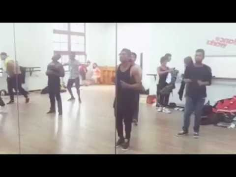 Yo Yo Honey Singh Love Dose Dance rehersals with Big Dance boys in London
