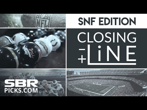 Week 12 NFL Betting | Sunday Night Football Pregame Show | Closing Line