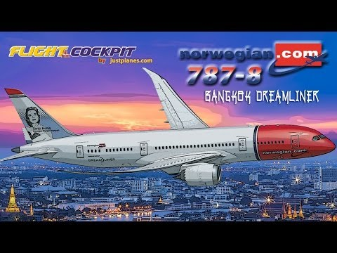 NORWEGIAN 787 to Bangkok!