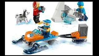Лего 60191 (Арктика. Набор для начинающих.)
