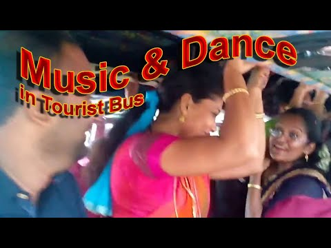 Music and Dance in Tourist Bus. Vid 1.