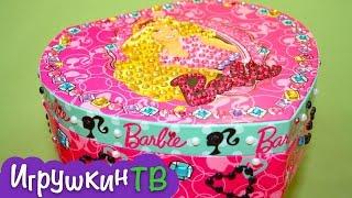 Шкатулка для украшений от Barbie