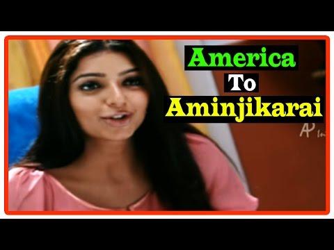 America To Aminjikarai Tamil Movie | Scenes | Bhumika Insults Jagapati Babu | Venu Madhav