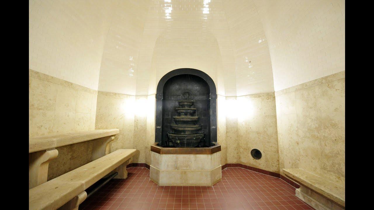 sanierter saunabereich im m ller 39 schen volksbad youtube. Black Bedroom Furniture Sets. Home Design Ideas