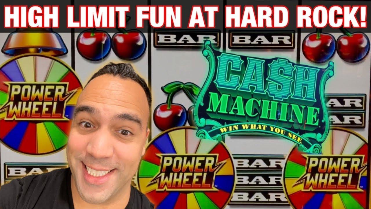 🎸 HIGH LIMIT FUN AT Hard Rock Sacramento!!! | 🥁 DANCING DRUMS!! | WHEEL OF FORTUNE 👑
