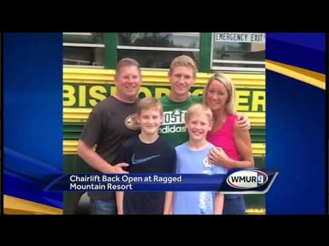 Child who fell from Ragged Mountain lift recovering
