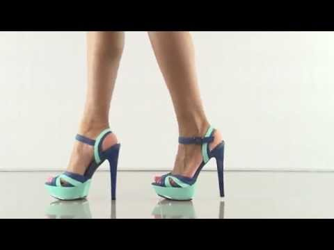 Reebol Blue Pu heels for cheap to get the best of you