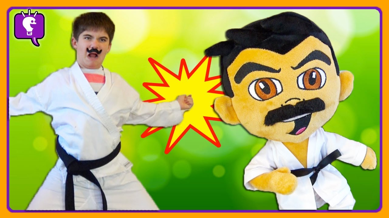 HobbyKarate TURNS into a Plushie! Action Packed Battle Adventure by HobbyKids