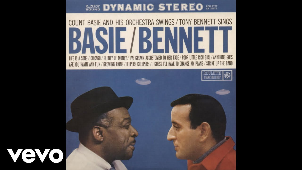 Tony Bennett with Count Basie and His Orchestra - Anything Goes (Audio)