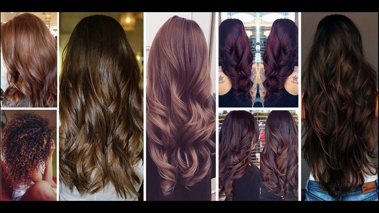 Best Plum Hair Color Ideas And Shades - YouTube