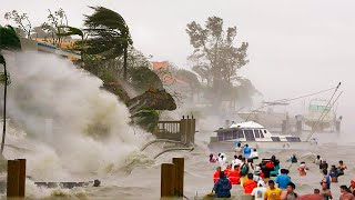 Страшный ураган ударил по Индии. Мощнейший потоп обескровил 50 тыс. человек. Селения ушли под воду