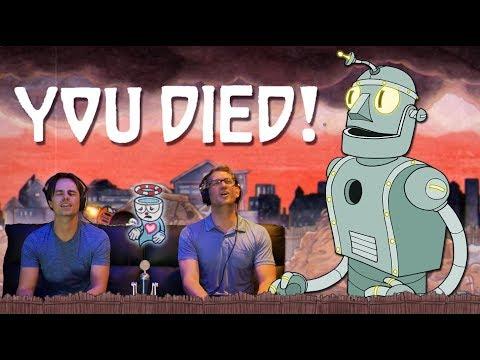 CUPHEAD Junkyard Jive | Let's Play / DEATH MONTAGE | w/ Mr Dooves & F1shard