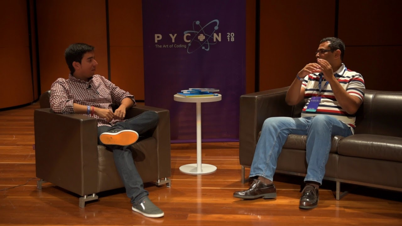 Image from Interview Satya Mallick - Keynote Speaker - PyCon Colombia 2018