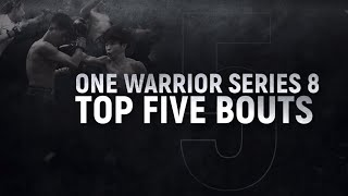 ONE Warrior Series 8 | Top 5 Bouts | ONE Full Fights