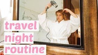 my-travel-night-routine