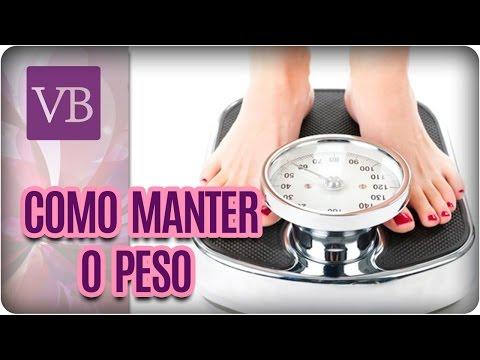 Como Manter o Peso Após Emagrecer – Você Bonita (22/11/16)