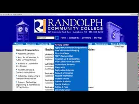 Randolph Community College Ad