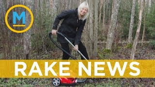 Donald Trump's claim that people in Finland rake the forest floor is getting a big response online