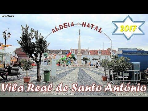 Aldeia de Natal de Vila Real de Santo António 2017