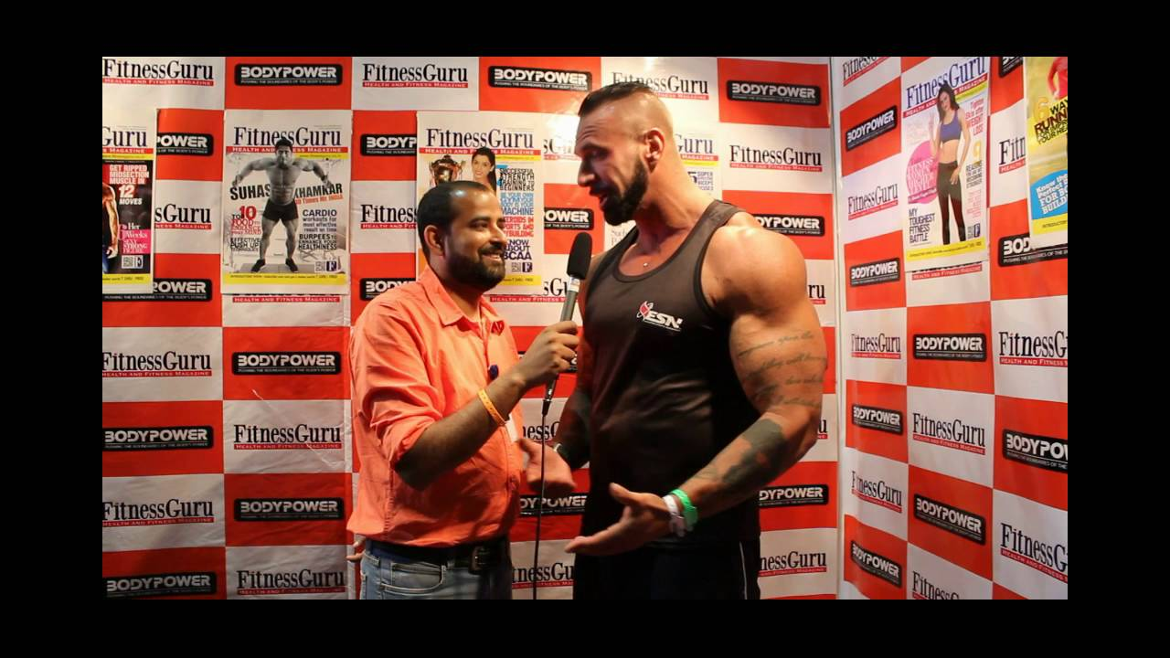 South African bodybuilder John Lucas at BodyPower 2016 Exclusive