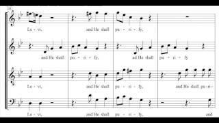 Haendel - Messiah - And He shall purify - Jacobs