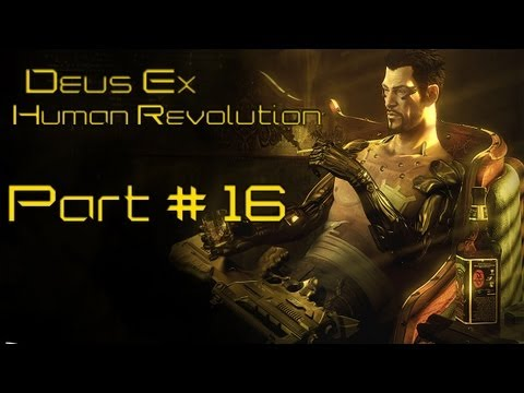 Deus Ex Human Revolution Playthrough Part 16 - Bar Tab and Shanghai Justice