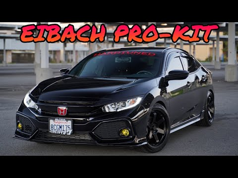 Eibach Pro Kit Lowering Springs Overview | 2018 Honda Civic Hatchback