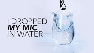 I dropped a microphone in water | Hey.film podcast bonus