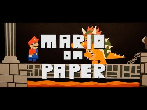 Mario On Paper