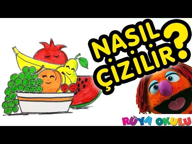 (Buraya Al) Meyve Tabaği Boyama