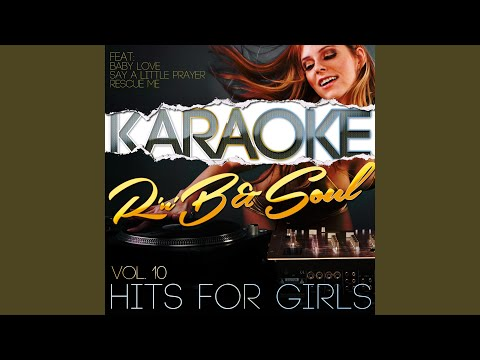 Say A Little Prayer (In The Style Of Aretha Franklin) (Karaoke Version)