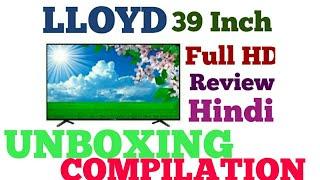 LLOYD Full HD Tv Review And Unboxing LLoyd 39 inch HIndi Review HD TV REVIEW RD Tech Guru