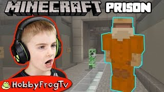 Minecraft Prison Break with HobbyFrog + HobbyDad