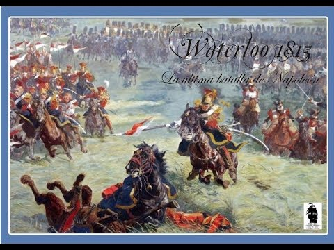 REVIEW: Waterloo 1815: Napoleon's Last Battle from Trafalgar Editions Games & Books