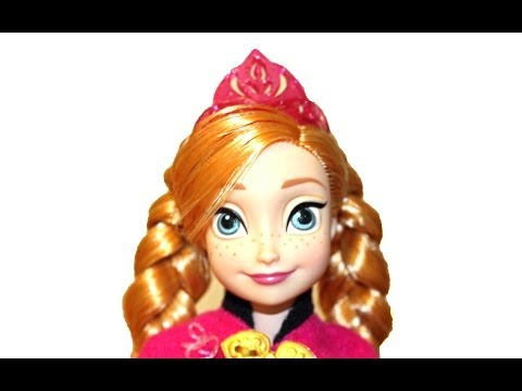 ANNA DISNEY FROZEN Musical Magic Fashion Doll - Singing Anna!
