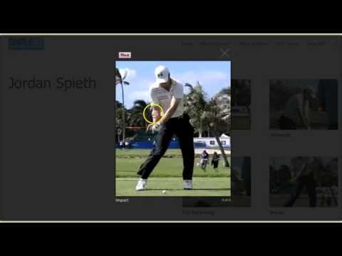 Jordan Spieth / Tiger Woods: Golf swing Grip and Posture
