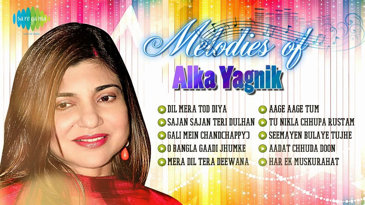 Melodies of Alka Yagnik | Best Bollywood Songs | Gali Mein aaj Chand Nikla