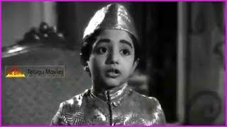 Mooga Nomu Movie Child Artist Best Scenes in Telugu | ANR | SVR | Jamuna