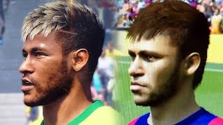 Gamescom: Fifa 15 vs Pes 2015 Face Comparison | Head to Head Faces